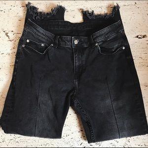 Cheap Monday Boyfriend Black Jeans